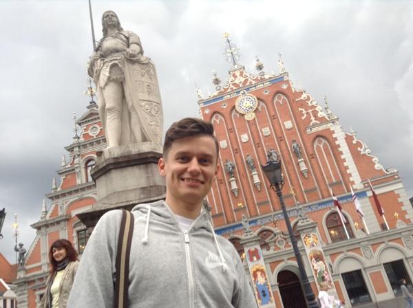 Мое путешествие по Латвии, Украине и России