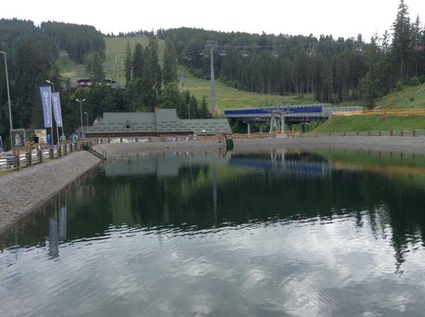 Озеро Буковель