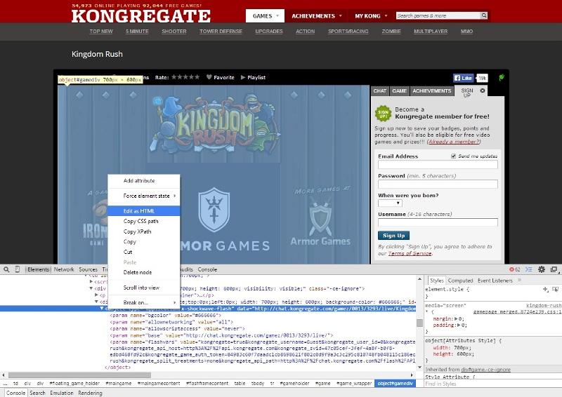 Установить на сайт игру онлайн