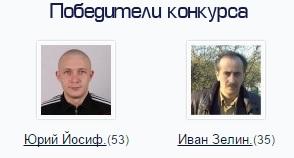 Победители конкурса топ комментатор
