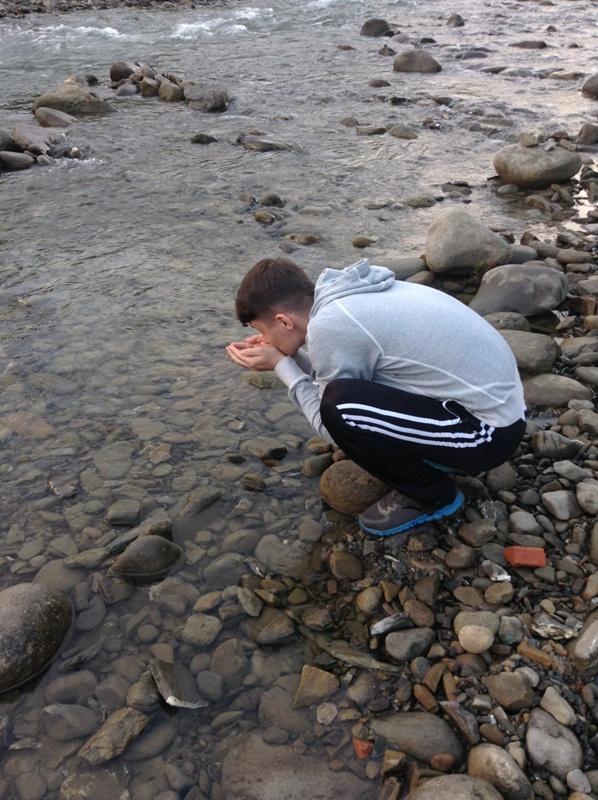 горная речка